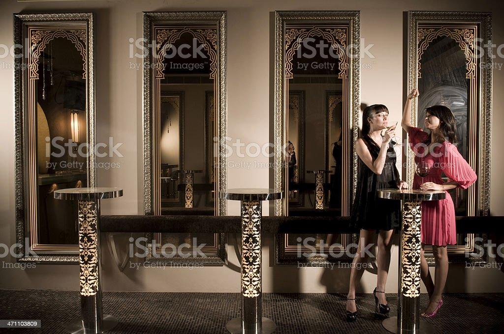 the nightclub royalty-free stock photo