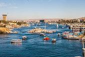 The Nile In Aswan