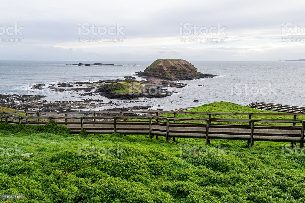 The Nobbies in Phillip Island stock photo