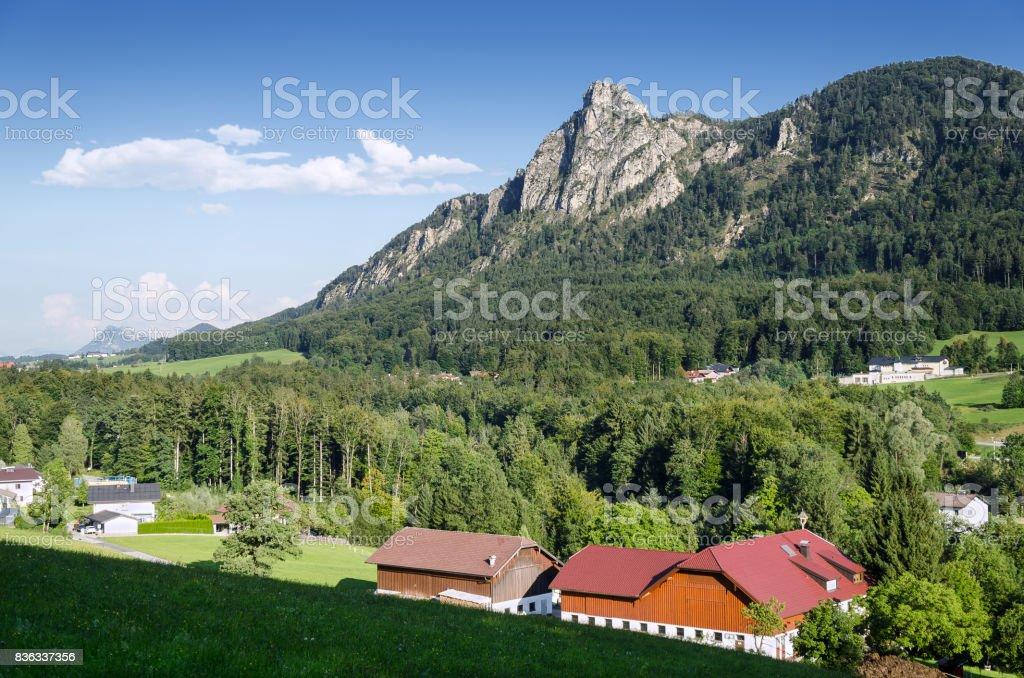 The Nockstein in Salzburg, Austria, Europe stock photo