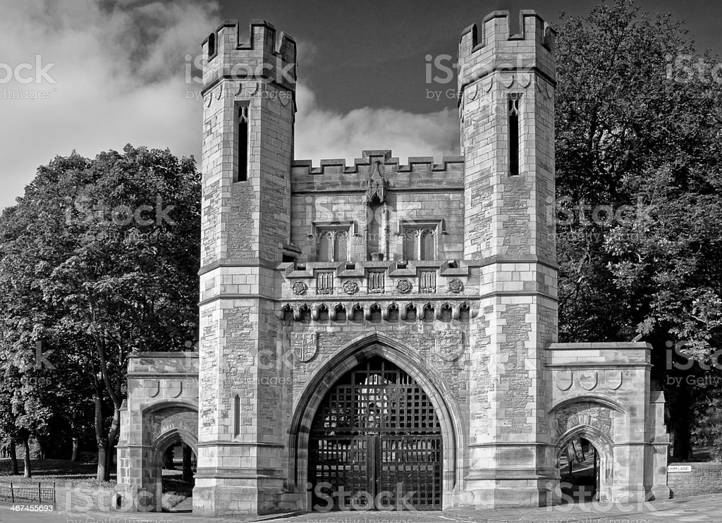 The Norman Arch stock photo