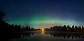 The Northern Lights as seen from Finland