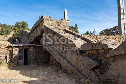 istock The Northern Stelae Park of Aksum, famous obelisks in Axum, Ethiopia 1173442743