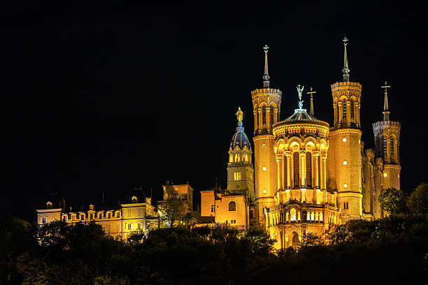 The Notre Dame Cathedral in Lyon, France - Photo