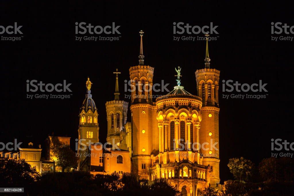 La cathédrale de Notre Dame à Lyon - Photo