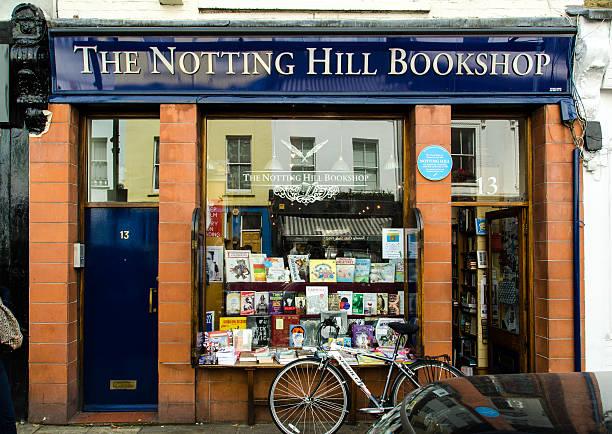 Notting Hill librería-viajes librería - foto de stock