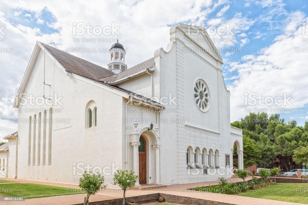 The Nuwe Kerk in Graaff Reinet foto stock royalty-free