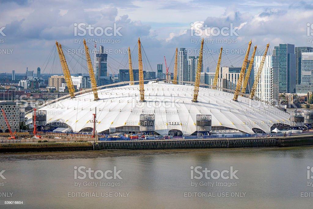 The o2 Arena, London, England, UK stock photo