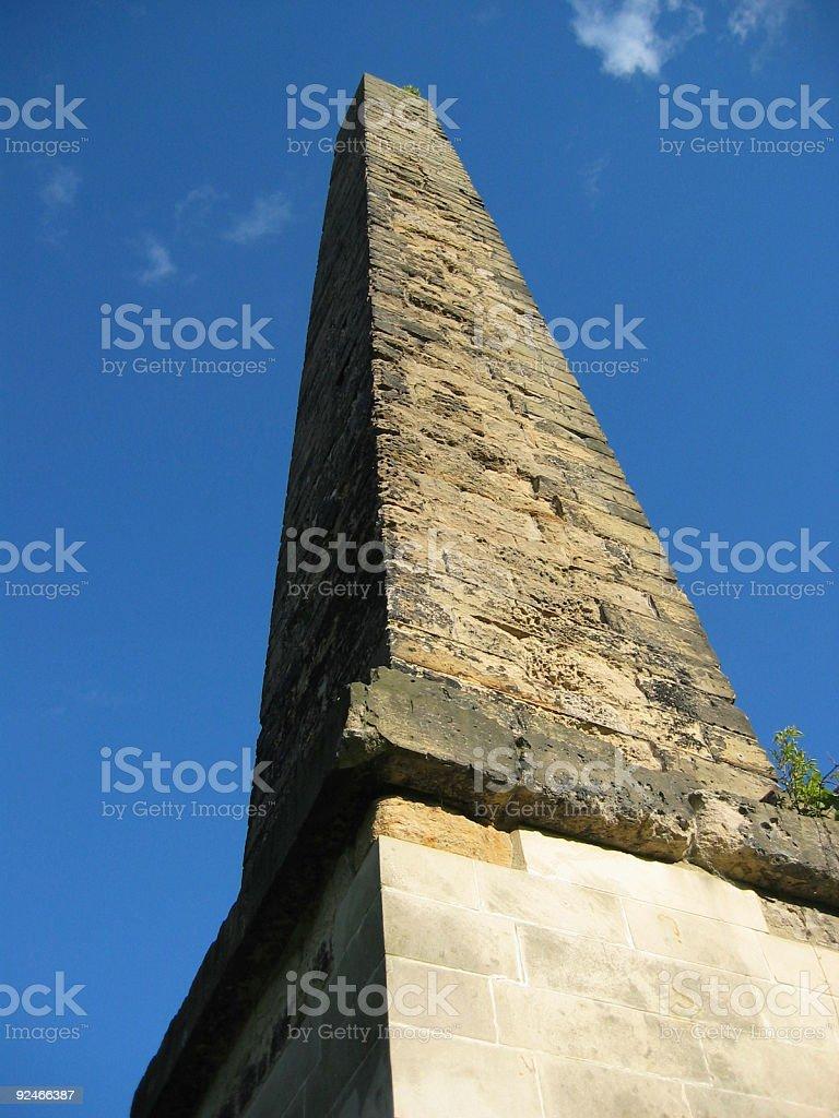 The Obelisk Monument royalty-free stock photo