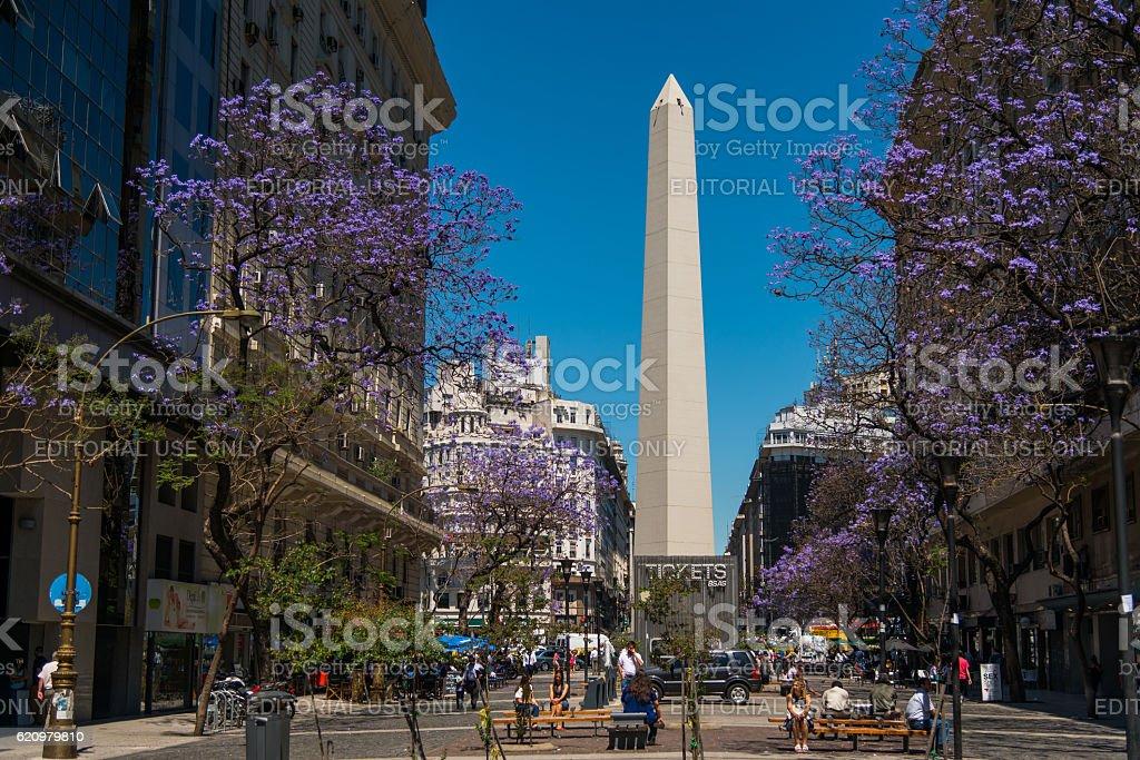 O Obelisco foto royalty-free
