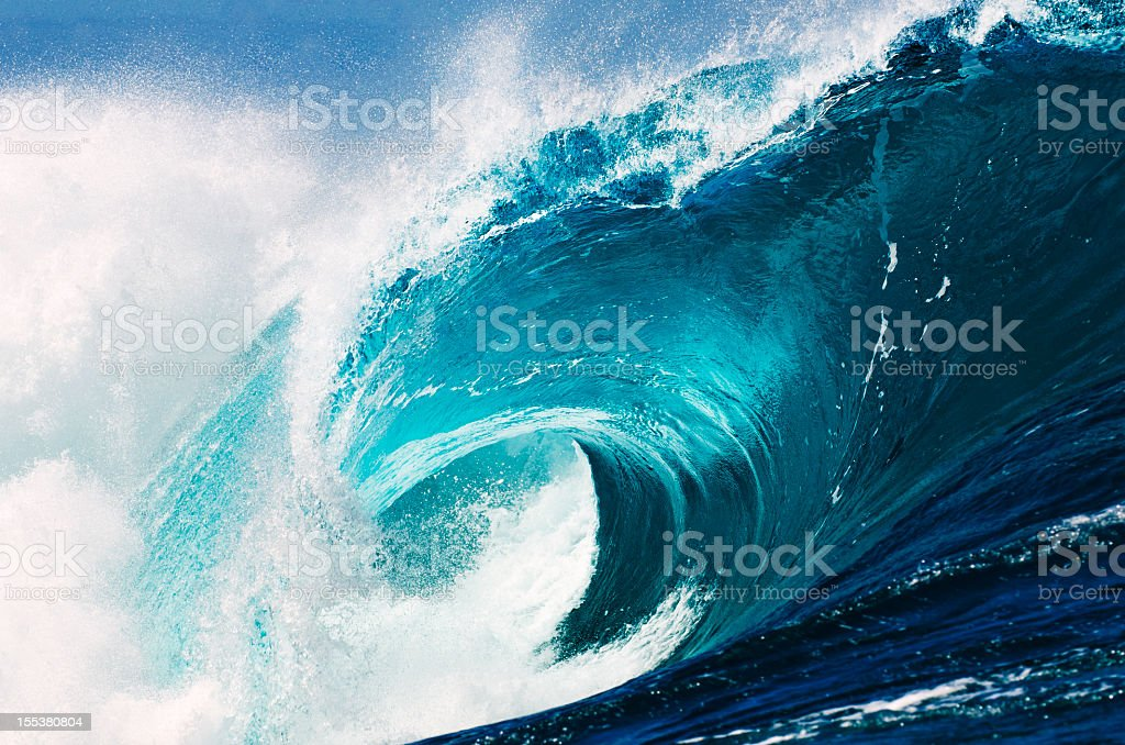 The Ocean Awakes stock photo