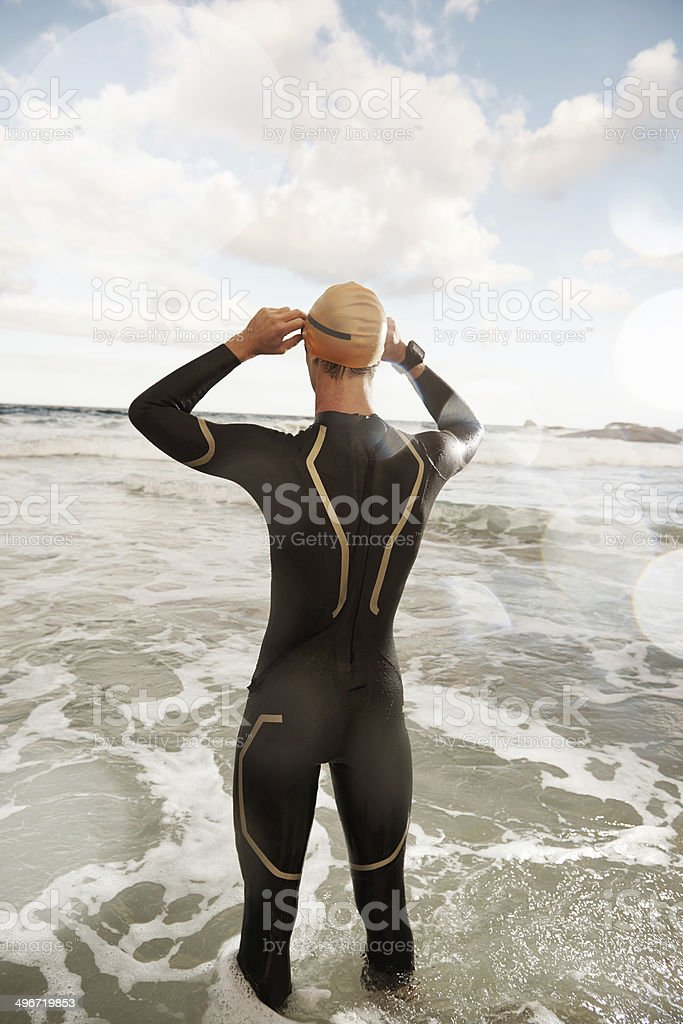 The ocean teaches us lessons that books cannot stock photo