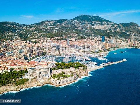 The Oceanographic Museum or Musee Oceanographique is a museum of marine sciences in Monaco Ville in Monaco