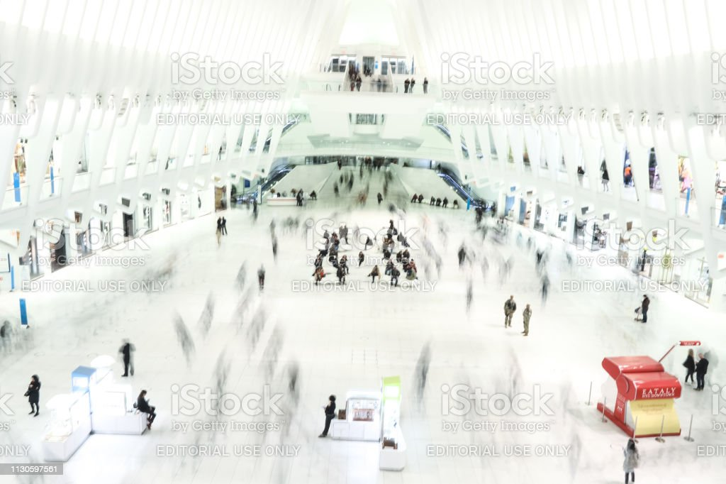 World Trade Center Transport Hub or known as The Oculus serves as...
