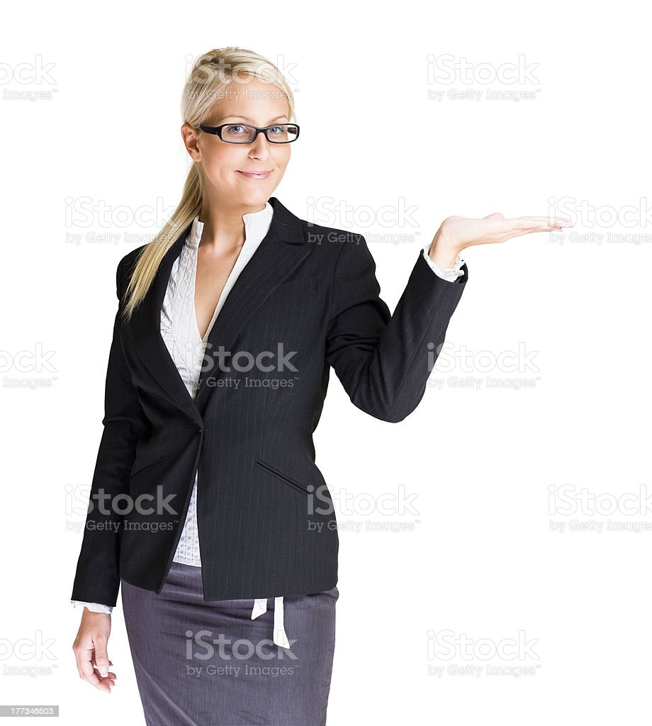 The offer. royalty-free stock photo
