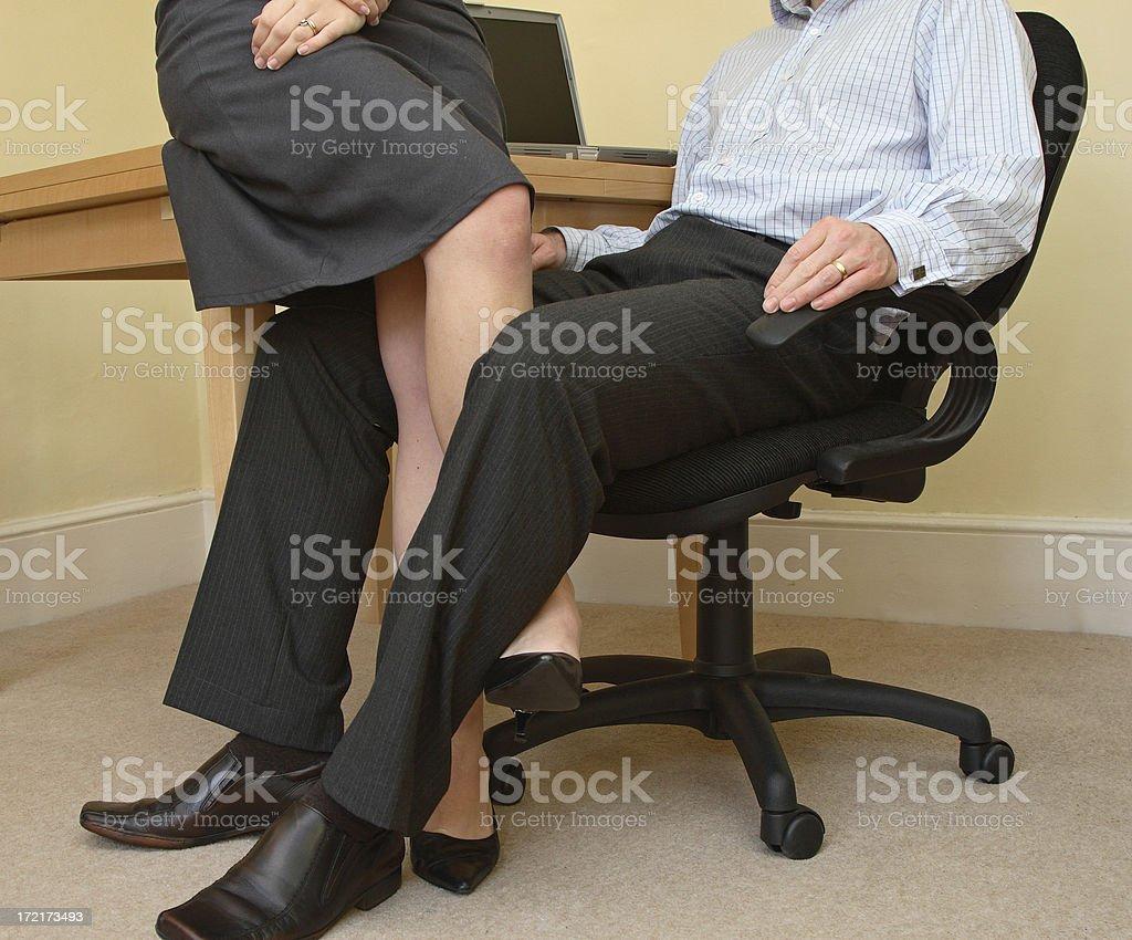 The Office Affair stock photo