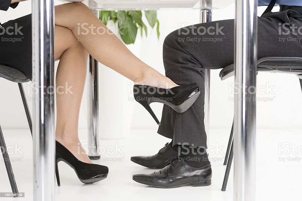 The Office Affair. stock photo