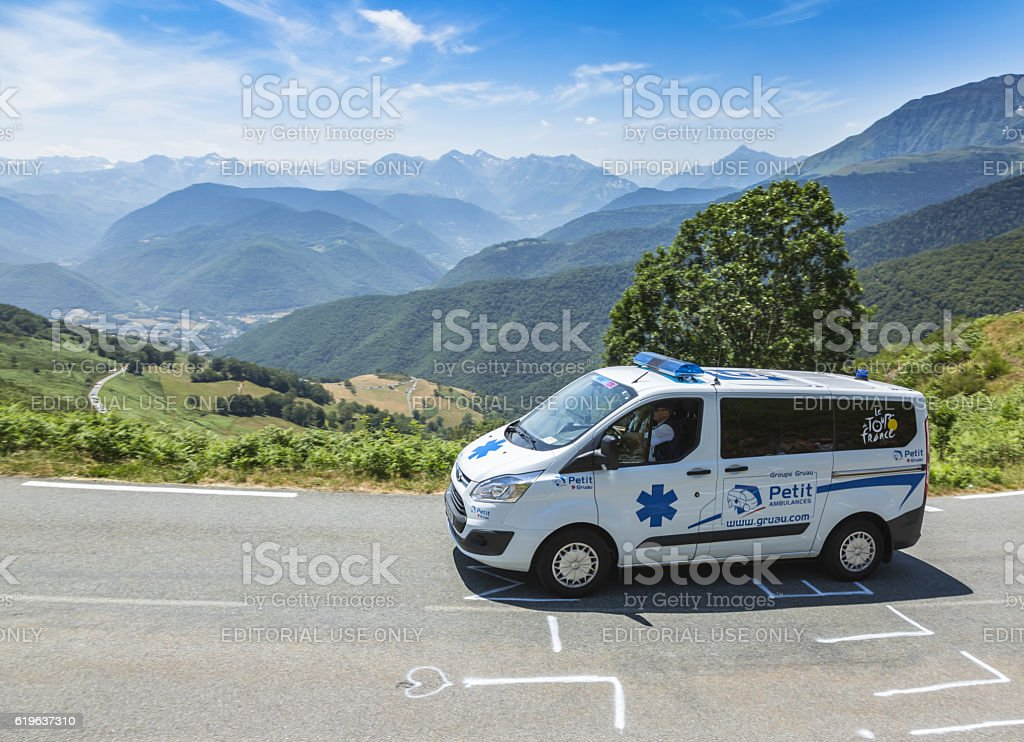The Official Ambulance - Tour de France 2015 - Photo