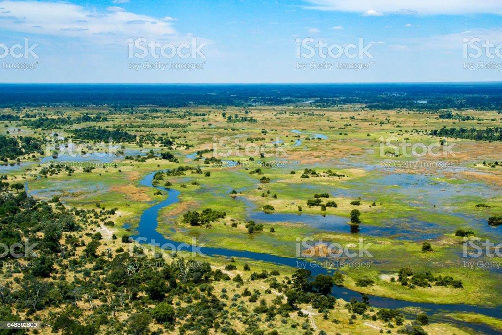 Das Okavango Delta, Botswana – Foto