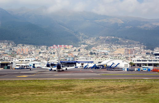The Old Airport In Quito Ecuador Stock Photo - Download Image Now