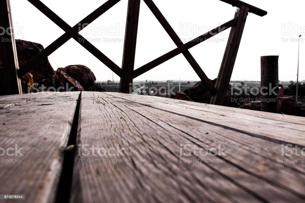 The old bridge royalty-free stock photo