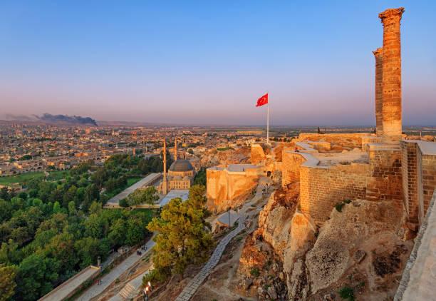 The old castle, Sanliurfa, Turkey stock photo