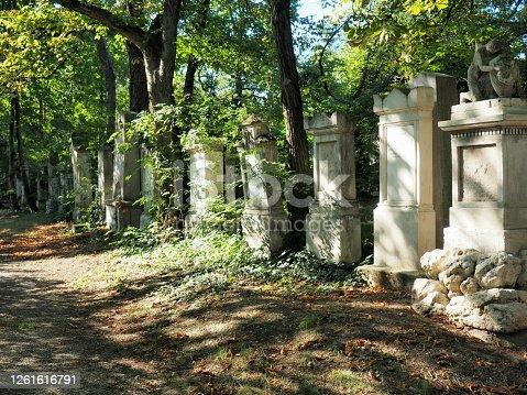 Vienna - Zentralfriedhof -Jüdischer Friedhof im Zentralfriedhof