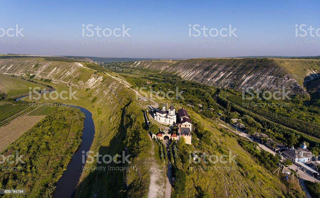 The old Christian Ortodox Church in Orhei, Republic of Moldova stock photo