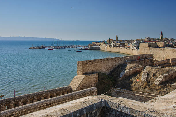 The Old City of Acre stock photo