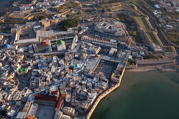 The old city of Akko, Israel. stock photo
