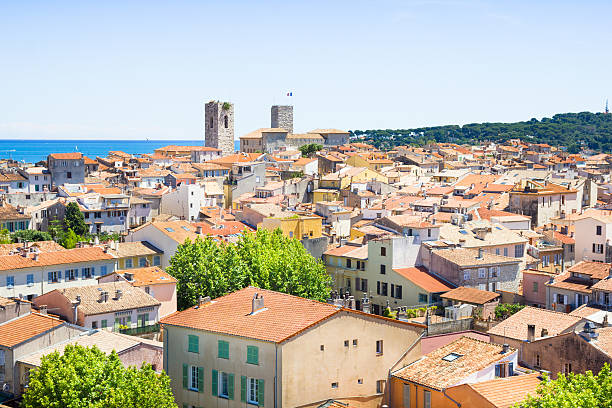 The old city of Antibes, French Riviera – Foto