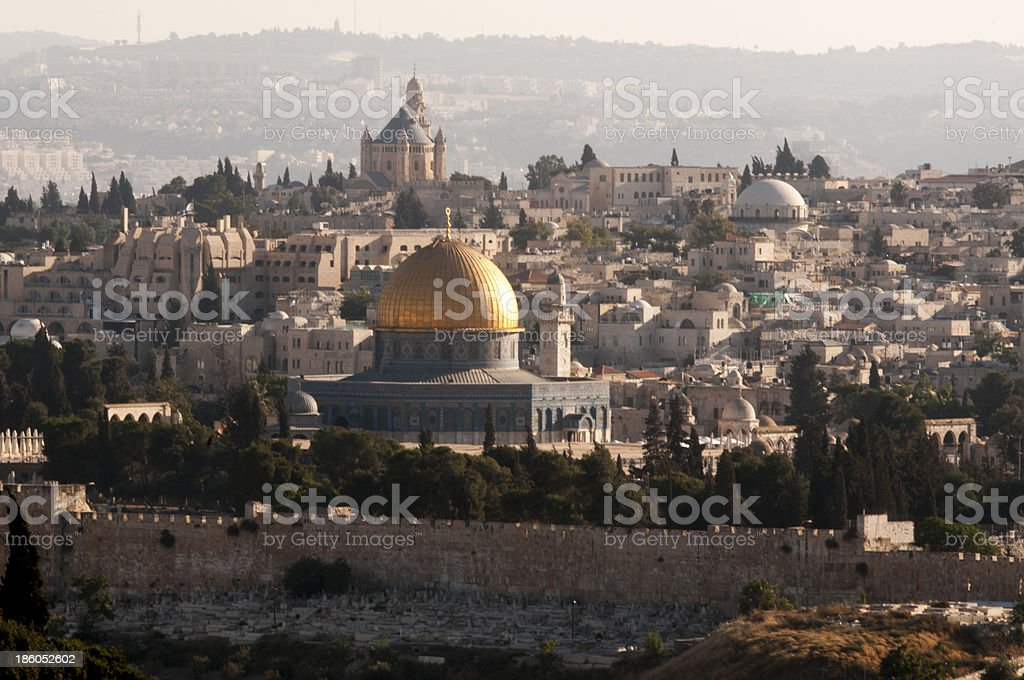 The Old City of Jerusalem royalty-free stock photo