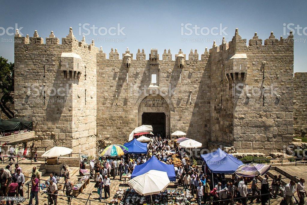 The Old City of Jerusalem stock photo