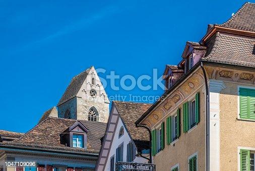 istock The old city of Rapperswil, Sankt Gallen, Switzerland 1047109096