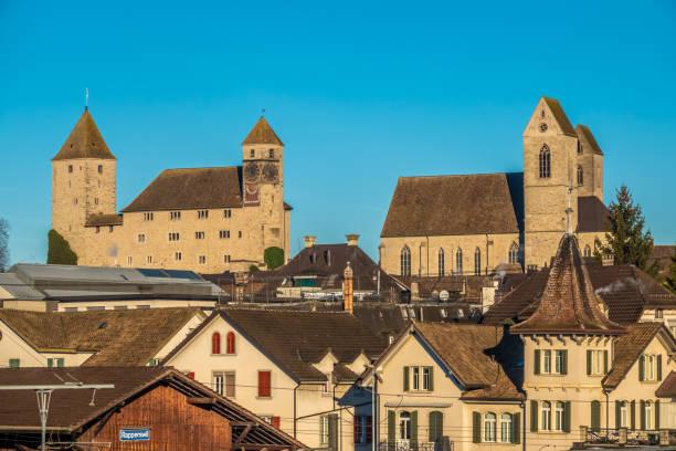 Die Altstadt von Rapperswil (Sankt Gallen), Schweiz – Foto