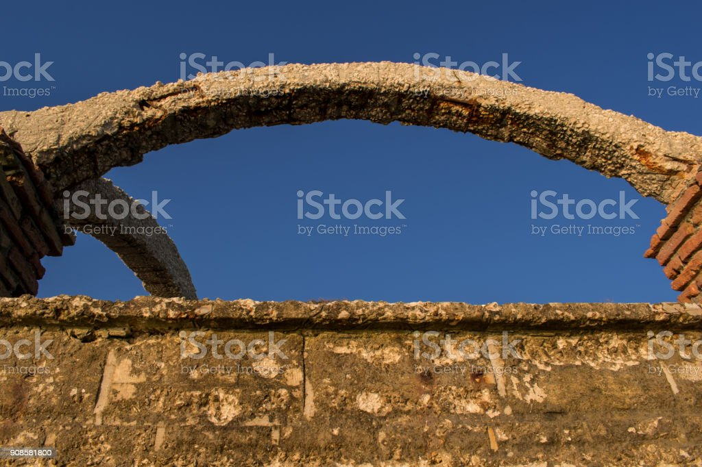 The old coast of St. st. Constantine and Helena stock photo