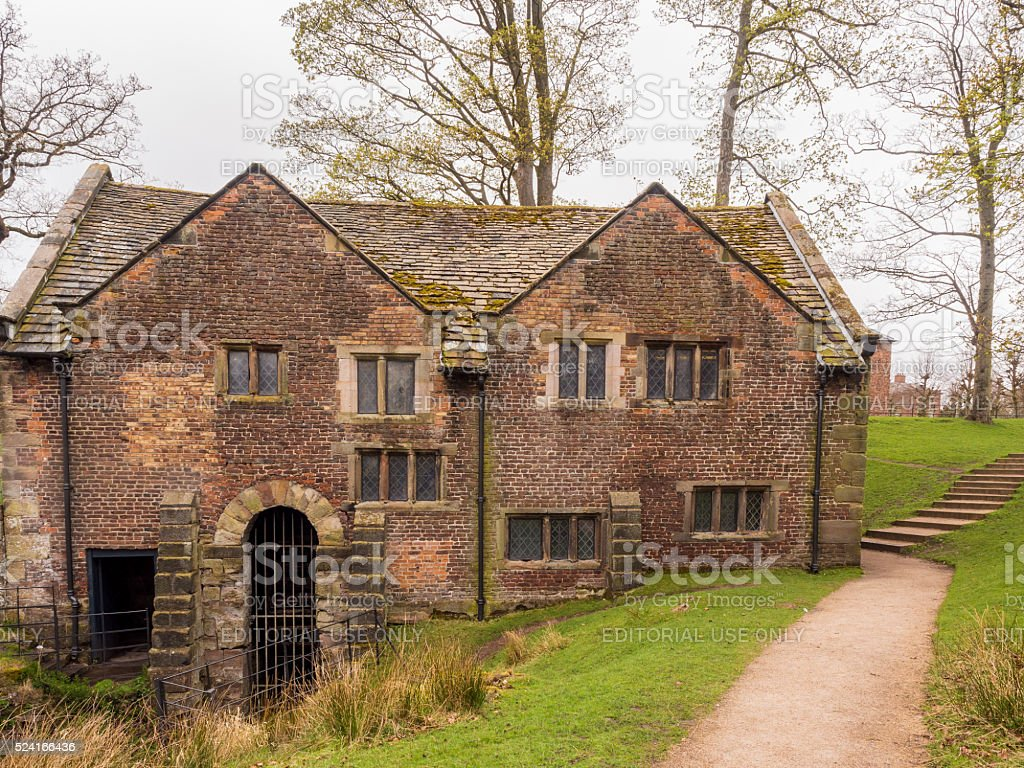 The old corn and saw mill, Altrincham, UK stock photo