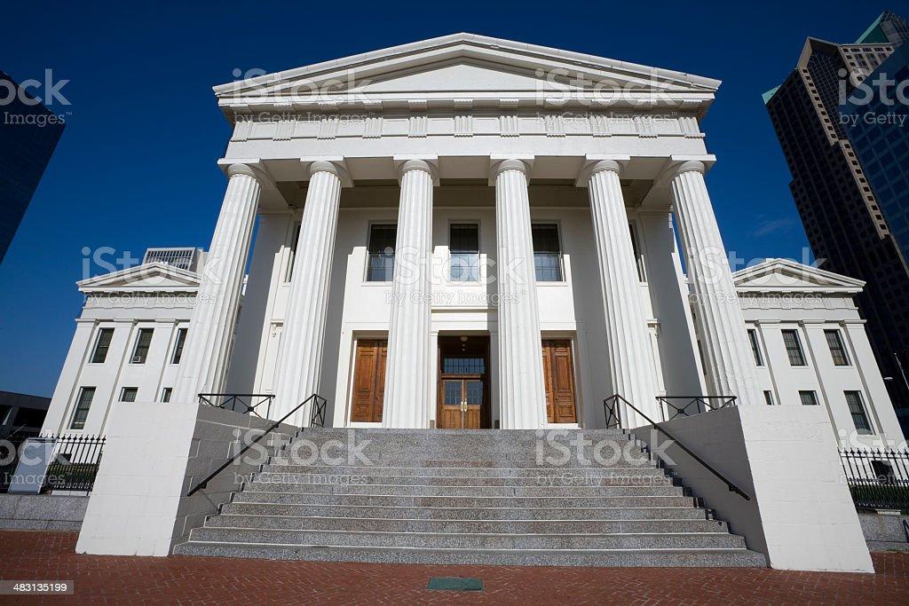 The Old Courthouse Saint Louis royalty-free stock photo