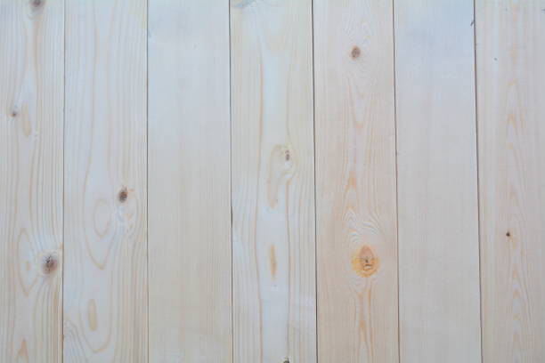 the old cream wood texture with natural patterns - top view, wood table, empty imagens e fotografias de stock