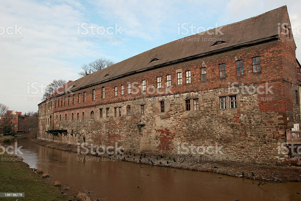 The old Factory royalty-free stock photo