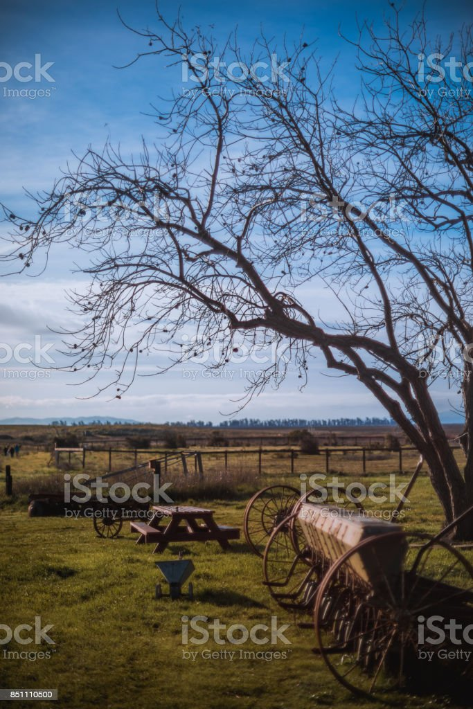 The Old Farm stock photo