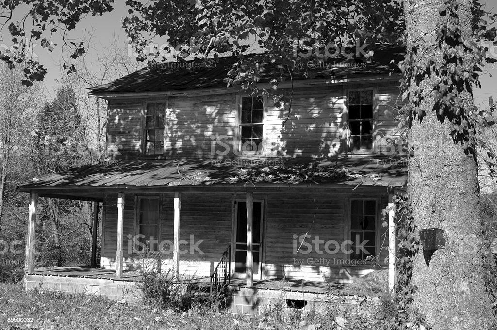 La vecchia fattoria foto stock royalty-free