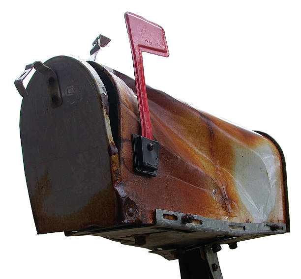 The Old Mailbox stock photo