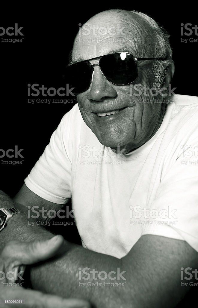 The Old Man royalty-free stock photo