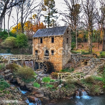 istock The Old Mill, North Little Rock 1238929976