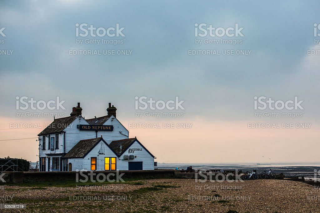 The Old Neptune, Whitstable, Kent stock photo