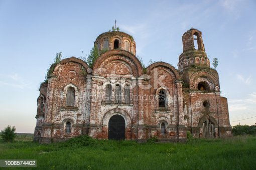 istock The Old Orthodox Church (1864) The Conception of John the Baptist in the Tver Region. 1006574402