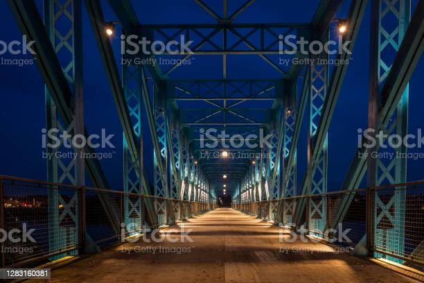 Photo of The old railway bridge in Randers, Denmark