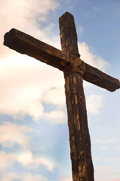 The Old Rugged Cross stock photo
