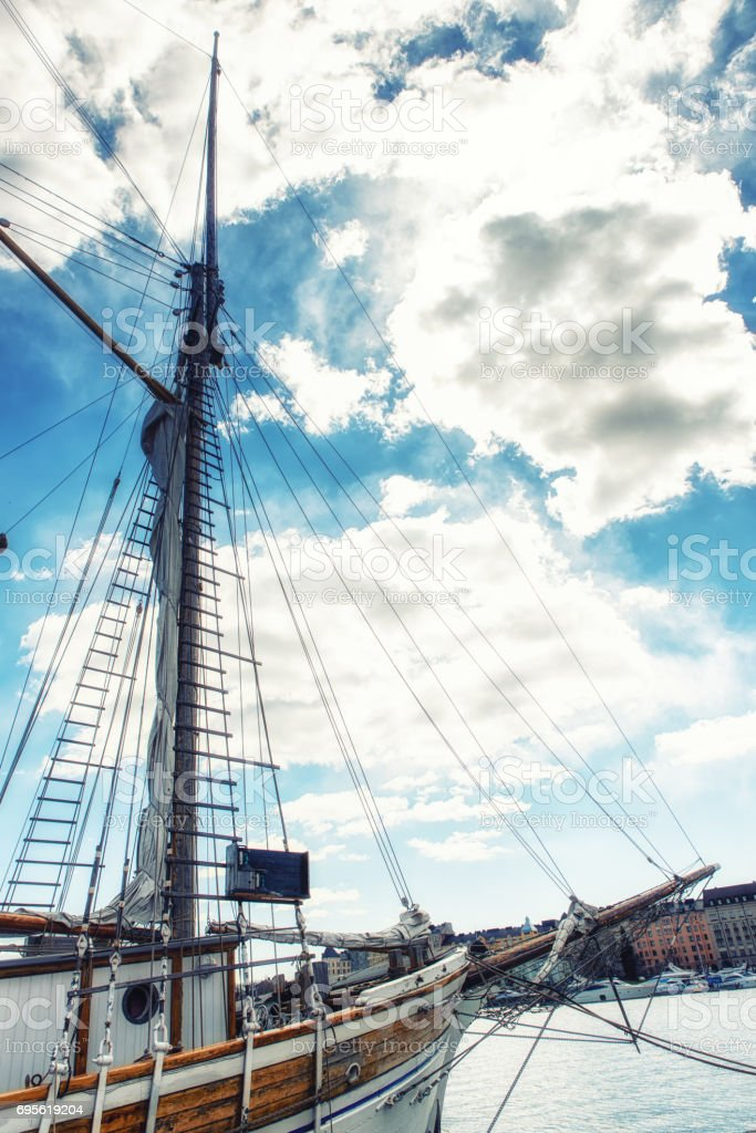 the old sailing ships in dock helsinki finland stock photo more